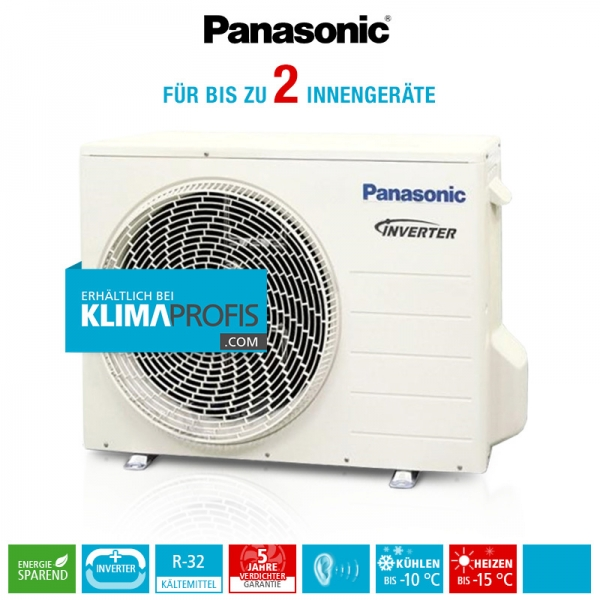 Panasonic CU-2Z50TBE R32 Multi-Split Inverter Plus Außengerät - 5,4 kW